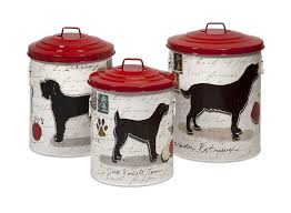 Decorative Dog Food Storage Containers Decorative Dog Food Canisters