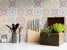 credence autocollant cuisine autocollant adhésif pour carreaux de ciment sticker carrelage