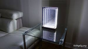 Infinity Mirror Desk Modern Led Infinity Mirror Table Lamp 19 Steps With Pictures