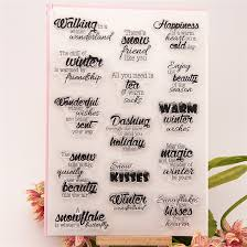 wedding gift greetings aliexpress buy high quality diy scrapbooking clear st