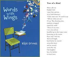 Poem Of Halloween Spotlight On Ncte Poets Nikki Grimes With Lee Bennett Hopkins