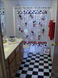 mickey mouse bathroom ideas minnie bathroom mickey and mouse fabric shower curtain kids bathroom