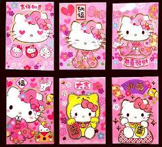 hello new year envelopes 10 packs 60 pcs 2018 new year pink hello
