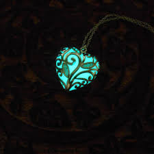 glow necklaces aqua glowing necklace glow in the from pureharmonyjewelry