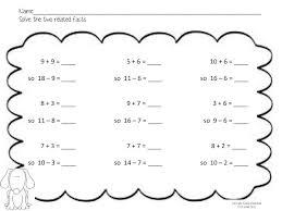 58 best math fact families images on pinterest fact families