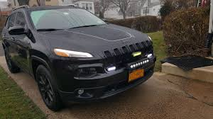 jeep cherokee grill logo added another light bar to the grill and need your advice 2014