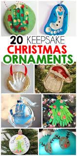 top 20 diy keepsake ornament kid crafts christmas ornament