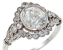 edwardian style engagement rings edwardian ring etsy