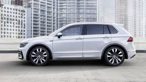 volkswagen tiguan 2017 black 2017 volkswagen tiguan r line side hd wallpaper 3