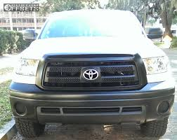 american toyota wheel offset 2013 toyota tundra slightly aggressive leveling kit