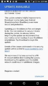 android security update blackberry releases security update for android devices berryreview