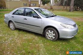 toyota camry altise for sale toyota camry altise sedan manual 4cyl 1 start no reserve