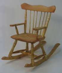 Child Rocking Chair David Godber Silvertree Woodworking Prince George Bc