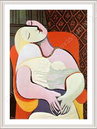 framed poster the dream pablo picasso framed paintings for home