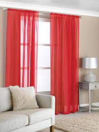 Crushed Sheer Voile Curtains by Curtains Red Beautiful Red Voile Curtains Strata Voile Curtain