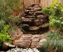 Rock Garden Waterfall Small Garden Waterfalls Small Backyard Corner Pond Waterfalls Kits