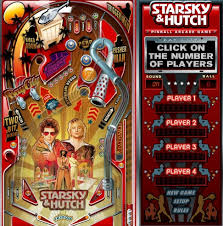 Starsky And Hutch The Game Starsky And Hutch Pinball Game Pinball Guru Games