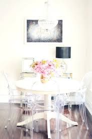 white hang lamp modern dining wall decor ideas with black wall and