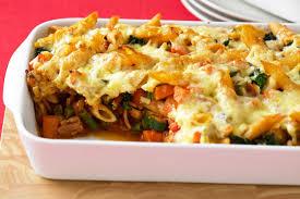 pasta recepies vegetable pasta bake