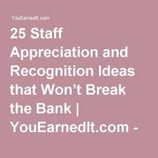 best 25 employee recognition ideas on recognition
