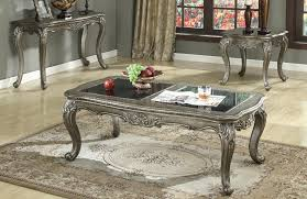 Granite Top Coffee Table 80540 Chantelle Coffee Table By Acme W Options