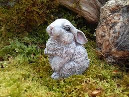 rabbit statuebunny garden statueoutdoor woodland