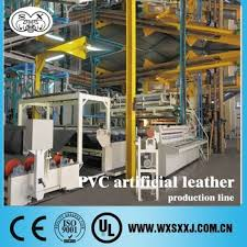 Upholstery Industry Pvc Artificial Leather Production Line For Upholstery And