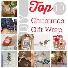 diy christmas top 10 diy christmas gift wrap southern savers