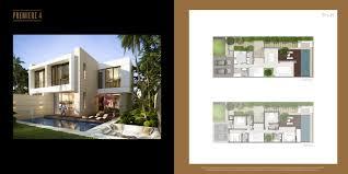paramount villas floor plans akoya dubai