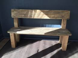 handcrafted dining table benches