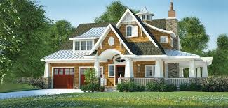 craftsman cottage house plans in large area abetterbead