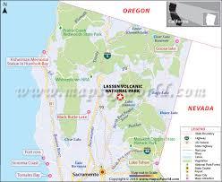 california map national parks lassen volcanic national park california map facts location