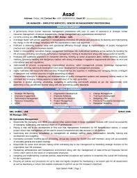Resume Format For Jobs In Singapore by Hr Manager Sample Resumes Download Resume Format Templates