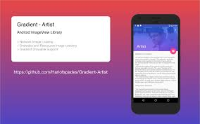 imageview android github hariofspades gradient artist learning to create android