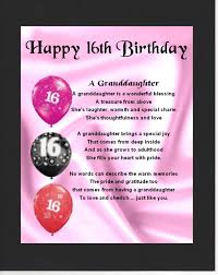 Love Quotes For Daughter by Personalised Mounted Poem Print 16th Birthday Design