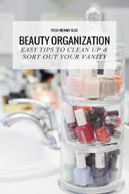 how to organize bathroom vanity beauty organization easy tips to clean up u0026 sort out your vanity
