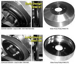 95 mustang gt underdrive pulleys mustang underdrive pulleys 96 mid 01 gt 96 99 cobra 1555