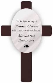 in loving memory personalized gifts in loving memory memorial cross memorial gifts personalized