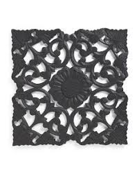 carved wood wall medallion wall decor carved wood