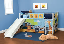 4 Bed Bunk Bed Loft Beds Loft Bed With A Slide The Ultimate Basketball Bunk 4