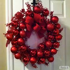pinkloulou red berry christmas wreath tutorial