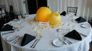 dining room everyday table centerpiece paper lantern centerpieces