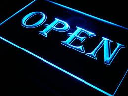 shop open sign lights i019 open shop cafe bar pub business led neon light signs on off