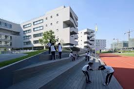 designboom green school beijing no 4 high school fangshan cus open architecture