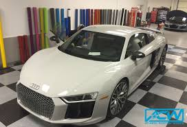 audi r8 wrapped 2017 audi r8 3m gloss storm grey atlanta custom wraps