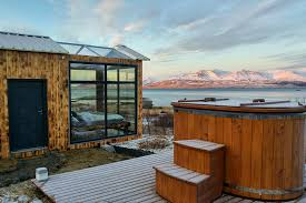 glass roof house this glass cabin in iceland lets you watch the northern lights