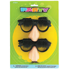 plastic groucho marx glasses costume party accessories