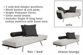 white daybed chaise lounger spacely day bed set the futon shop