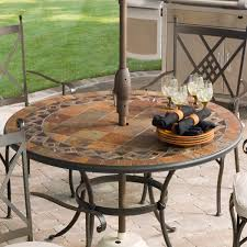 Iron Patio Dining Set - simple decoration round outdoor dining table smartness inspiration