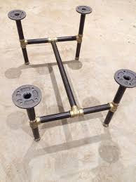 Pipe Coffee Table by Best 25 Pipe Table Ideas On Pinterest Industrial Outdoor Dining